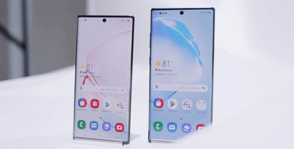 Samsung Galaxy Note 10 and Note 10+ officially launched 2